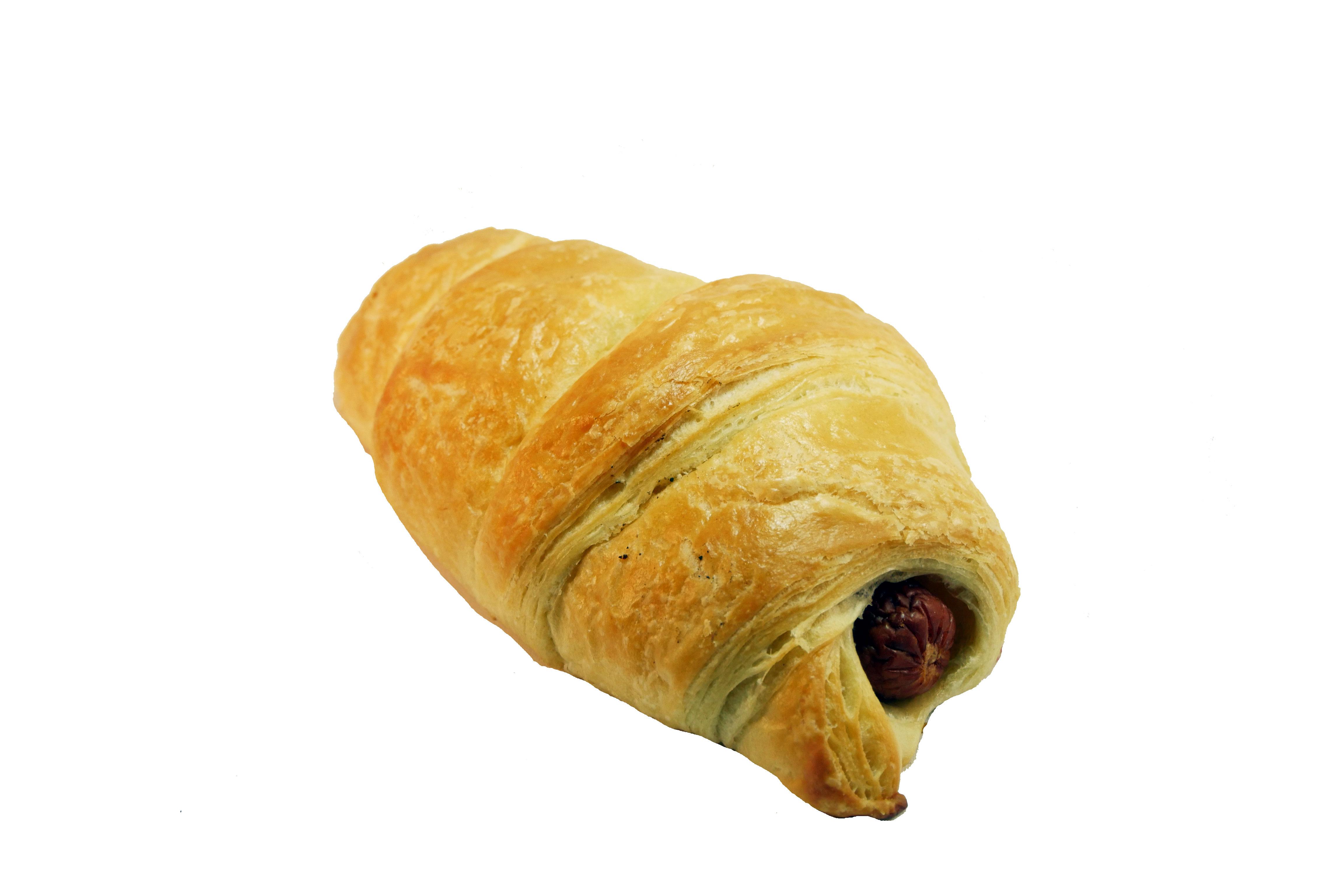 Würstchen-Croissant