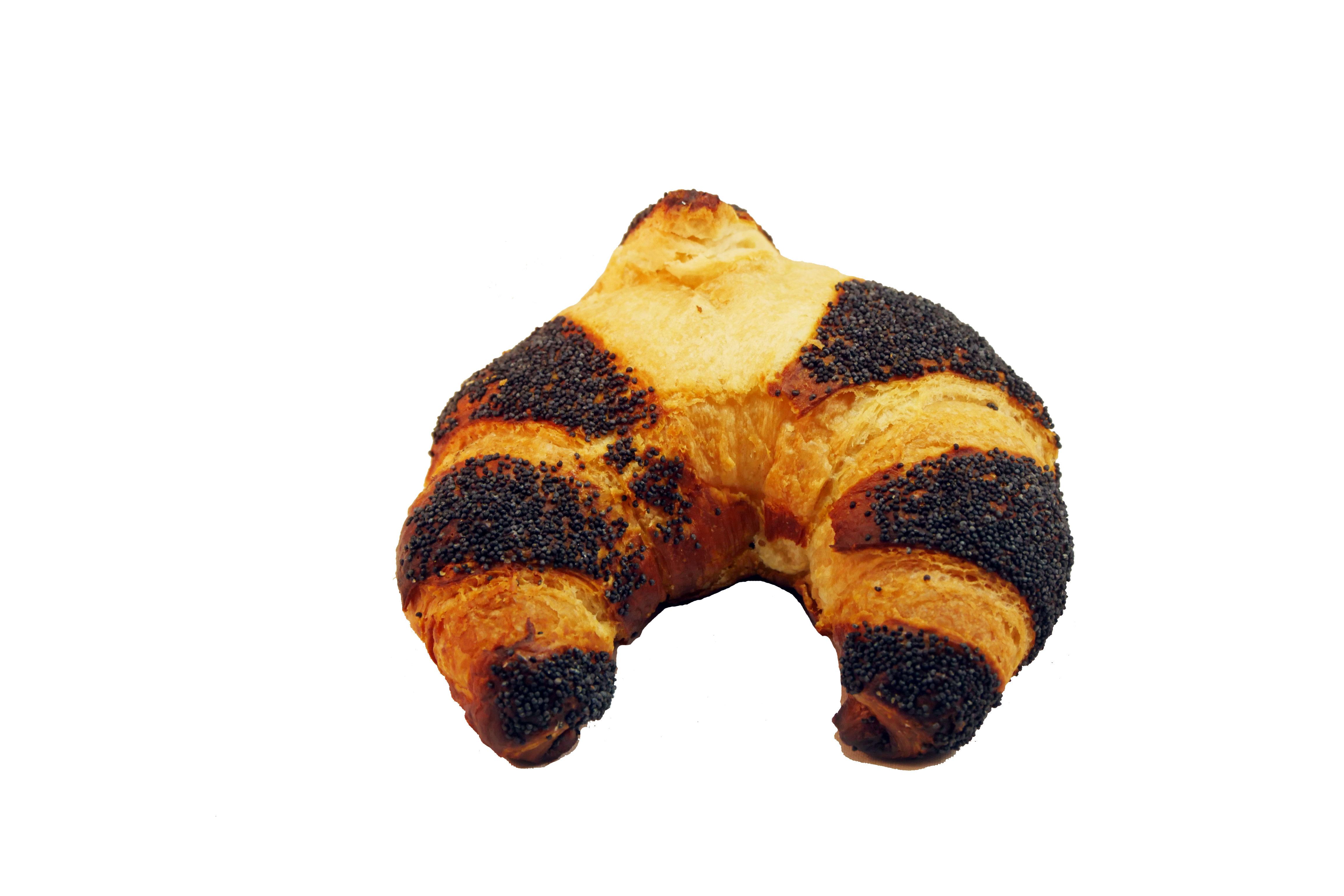 Mohn-Laugen-Croissant